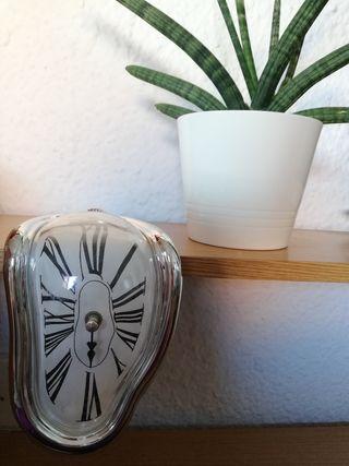 Deco reloj derretido Dalí