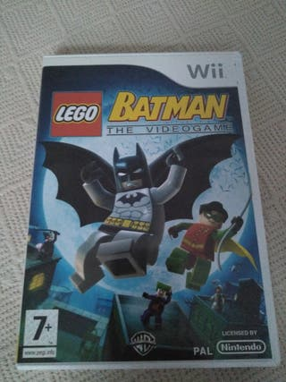 "Juego Wii Lego Batman ""The Videogame"""