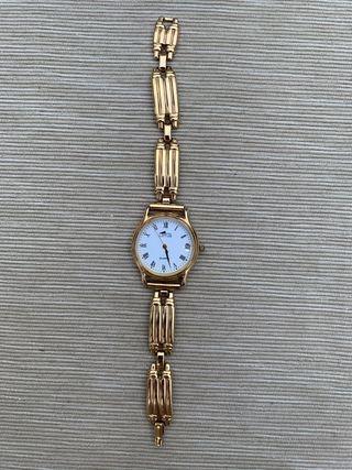 Reloj Lotus mujer chapado en oro