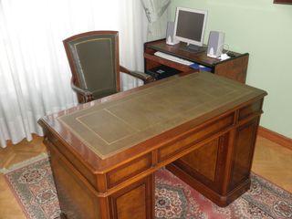 Muebles de despacho estilo inglés