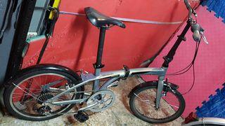 bicicleta plegable Monty fusión F2