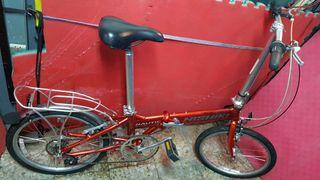 bicicleta plegable Nishiki Nautic D7