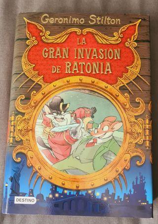 Gerónimo Stilton La gran Invasión de ratonia