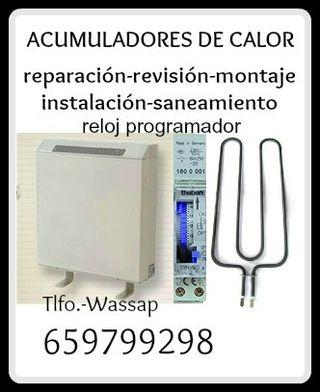 TECNICO ACUMULADOR DE CALOR-SERVICIOS Y REPARACION