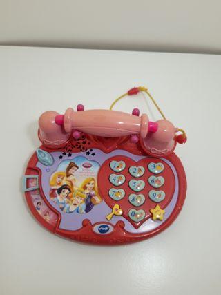 Teléfono princesas Disney NUEVO.