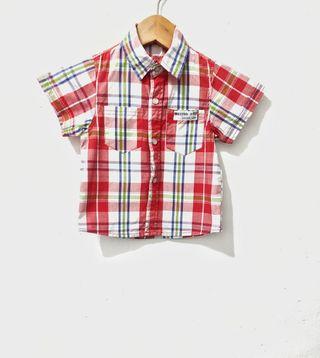 Camisa manga corta de niño