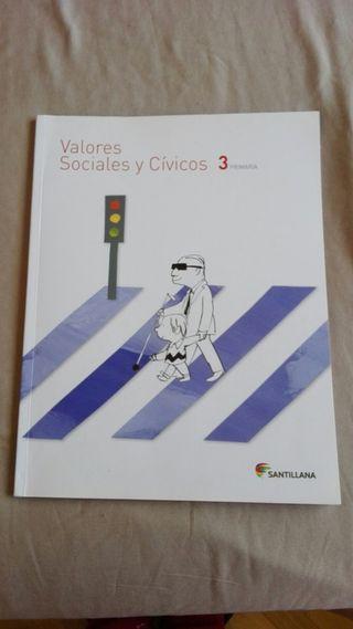 libro valores tercero primaria
