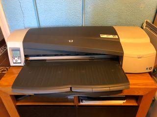 HP Designjet 111 Plotter con bandeja