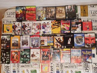 Pack 34 artículos (3 DVD's y 31 juegos)