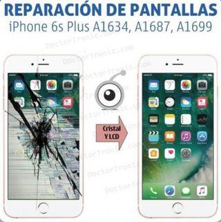REPARACIÓN PANTALLA ORIGINAL IPHONE 6s !!OFE RTON