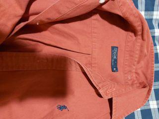 Camisas algodón loneta Ralph Lauren Polo.