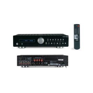Amplificador + 4 altavoces 100W/u