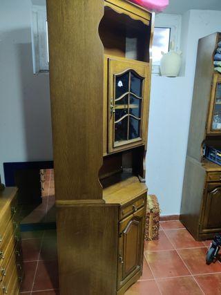 Mueble madera esquinera