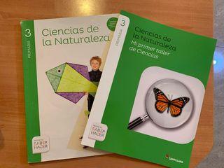 Libro Ciencias de la Naturaleza de 3 de primaria