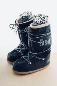 Botas descanso nieve