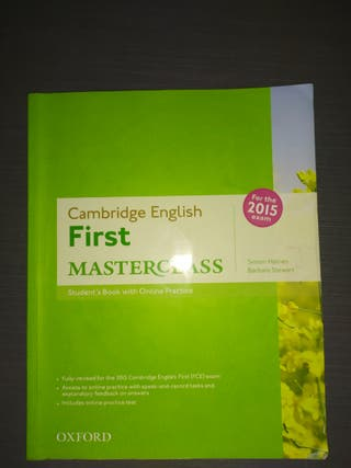 libro ingles first (cambridge) isbn:970194512688
