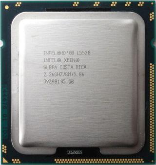 Procesador Intel Xeon L5520 4 nucleos / 8 hilos