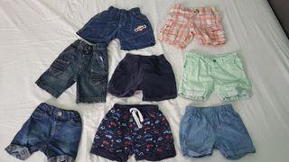 pantalón corto chico T. de 6 a 12 meses