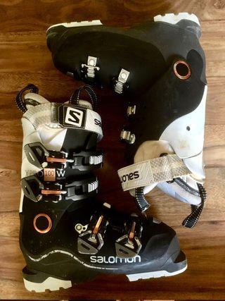 Bota esquí Salomon X-Pro 100W talla 23-23,5