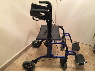 Andador / silla de ruedas