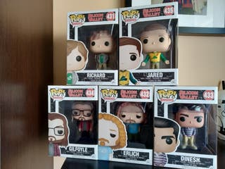 Pack Funko Pop Silicon Valley