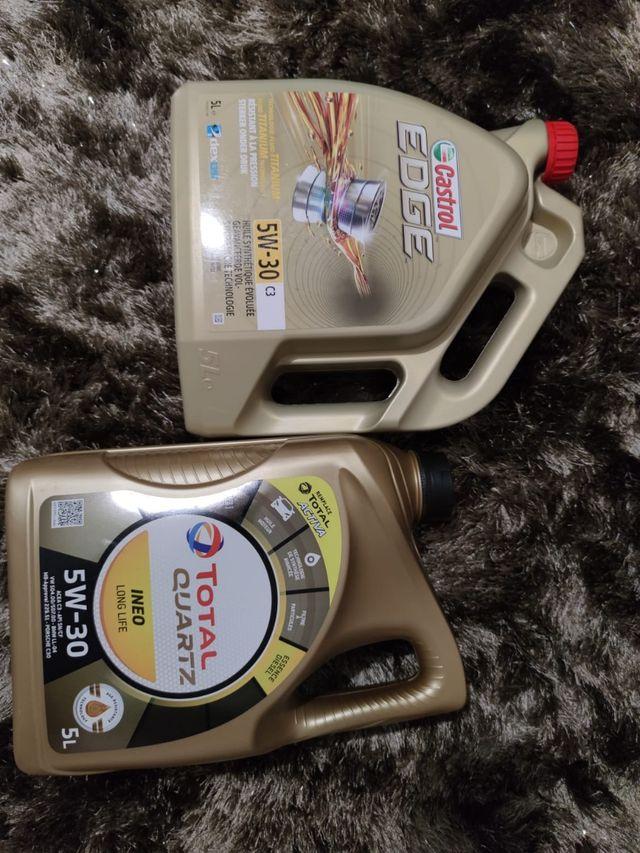 aceite de coche 5,30 nuevos