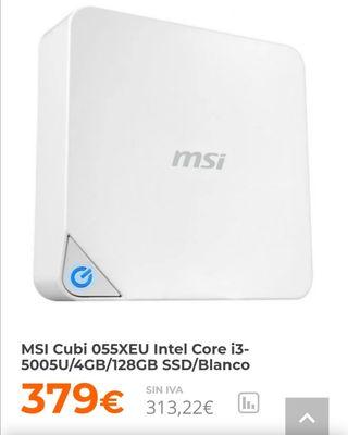 MSI Cubi (se vende mini pc MSI)