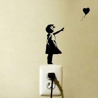 Vinilo decorativo de Banksy