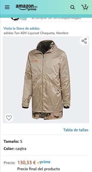 chaqueta Adidas M/L