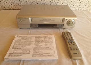 VHS Philips Reproductor Grabador