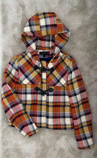 Abrigo tipo trenca de Zara
