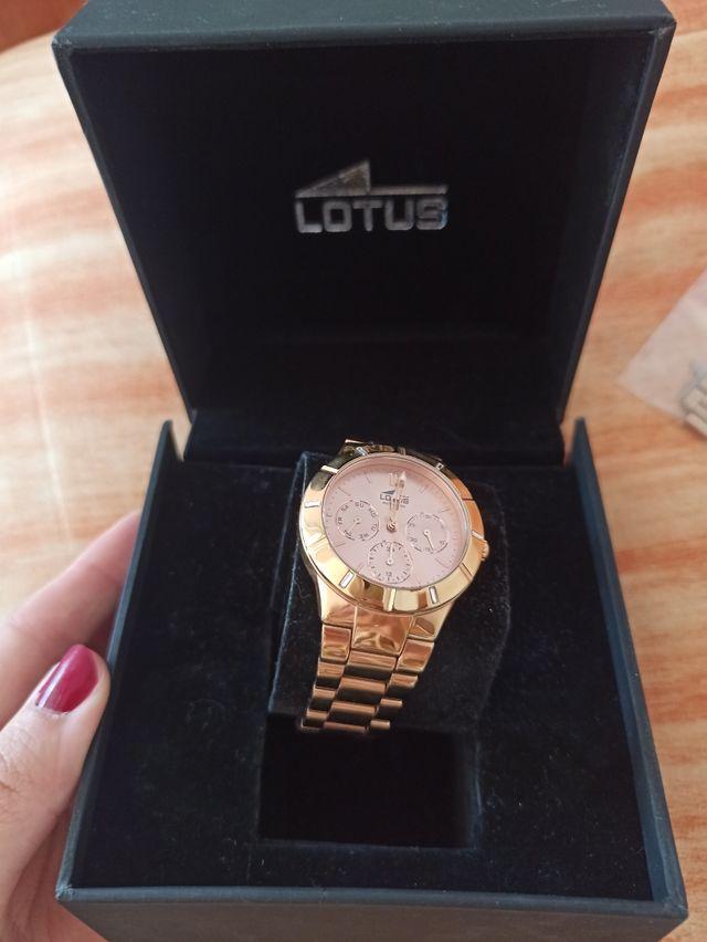 reloj Lotus oro rosa