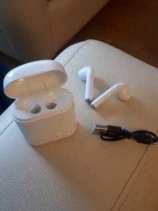 auriculares Bluetooth i7 NUEVOS!!