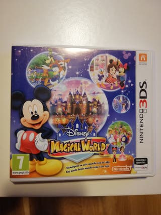 juego Nintendo 3DS Disney Magicalworld