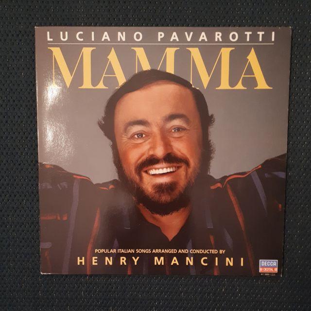 Vinilo Mamma. Luciano Pavarotti