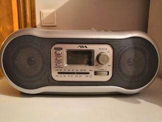 Radio Cassette con CD AIWA