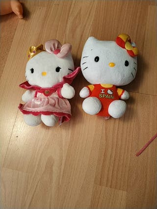 Muñecos de Hello kitty