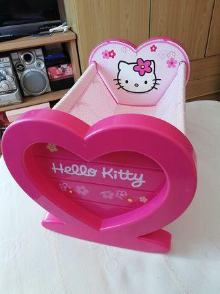 Cuna para Nenuco Hello Kitty.