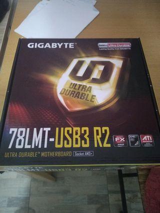 Placa base gigabyte 78lmt usb3 r2 Am3+
