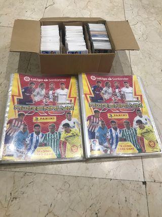 Lote álbumes fútbol Adrenalyn 2018-19