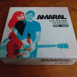 Amaral - Sus álbumes de estudio 1998 - 2008 (5 CD)