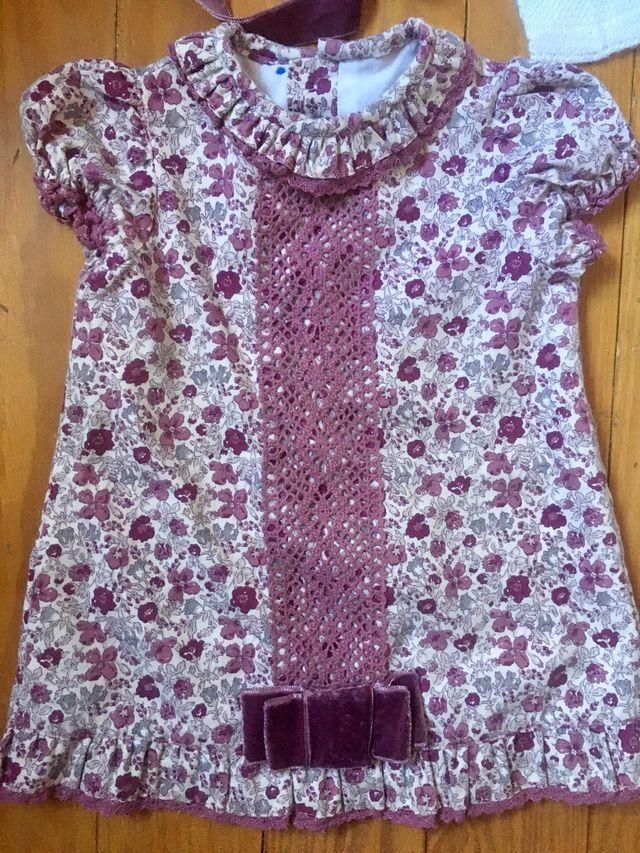Conjunto vestido 12 meses y regalo!
