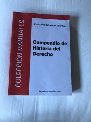 Libro/Compendio de Historia del Derecho