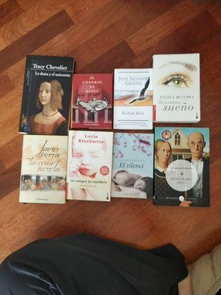 Pack de 8 libros: La dama y el unicornio de Tracy