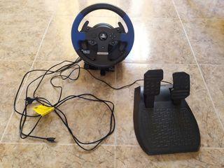 Volante Thrustmaster T150 PRO y pedales PS3 y PS4