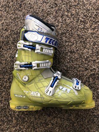 Botas esquí Tecnica