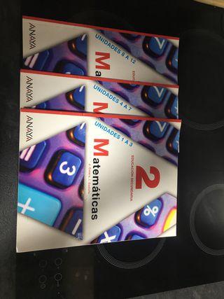 Libro de matemáticas de secundaria