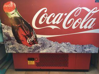 Botellero nevera de Bar Coca Cola
