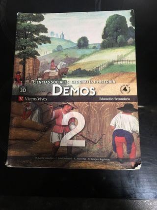 Libro de sociales geografía e historia