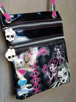 Bolso bandolera niña Monster High